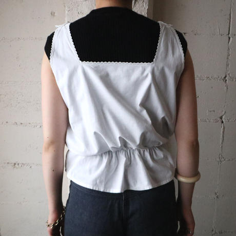 1930~40's EURO Cut Work Camisole WH