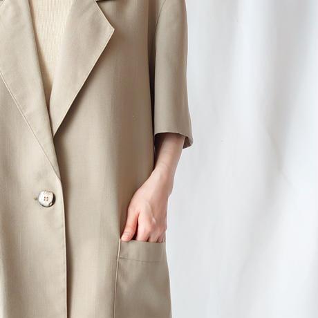 Short Sleeve Tailored Jacket BE