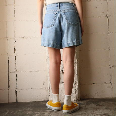 Denim Short Pants BL