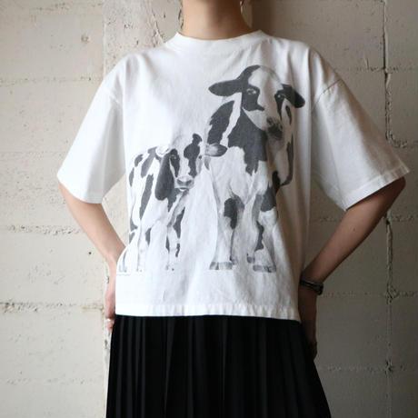 Cow Print Tee WH