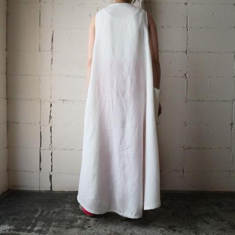 Linen Sleeveless Dress WH