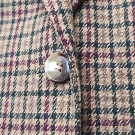 Plaid Tailored Jacket BEGRBUR