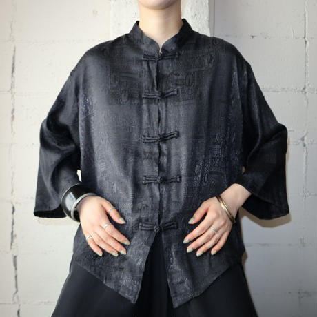 Pattern China Shirt BK