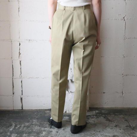 Cotton Tuck Pants BE