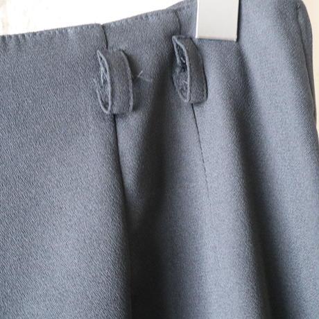 Side Zip Wide Pants BK