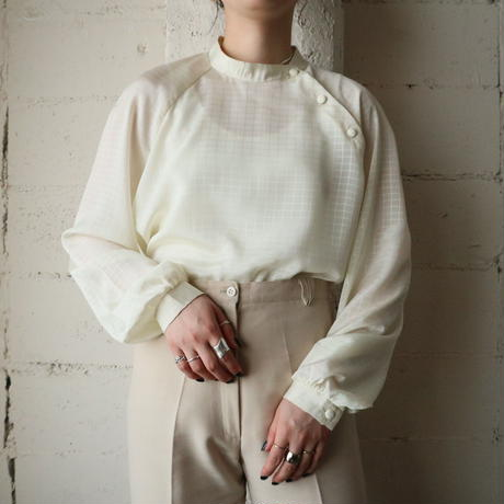 Shadow Check Blouse IV