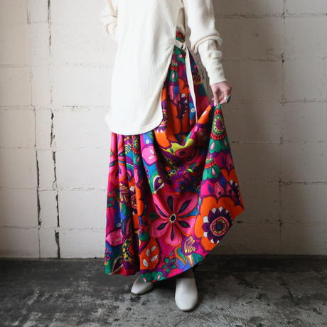 1960~70's Phychedelic Pattern Skirt PURRE