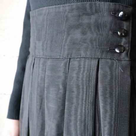 Vintage Moire Skirt BK
