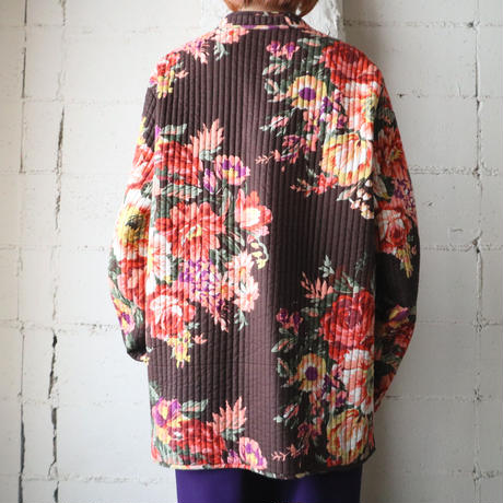 Reversible Quilted Jacket BRNV