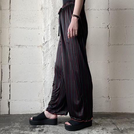 Design Hem Stripe Easy Pans BK RE