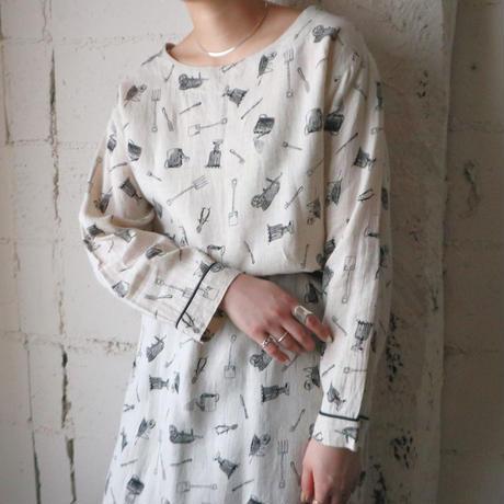 Farm Tool Pattern Dress LBE