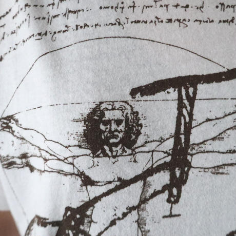 Leonardo Da Vinci Art Tee WH