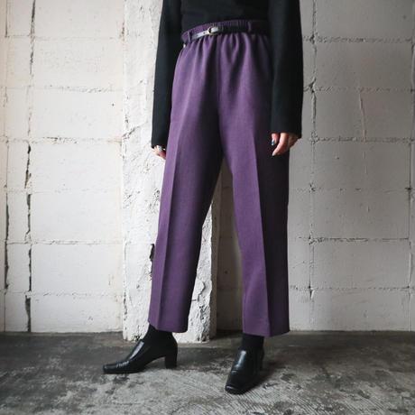Jacket × Easy Pants Setup PUR