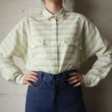 Striped Blouse YEWH