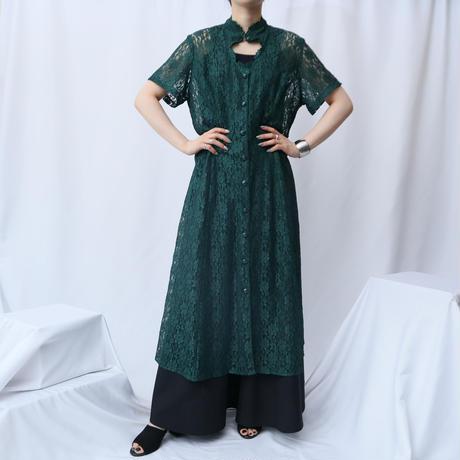 Peekaboo Design Lace Dress GR