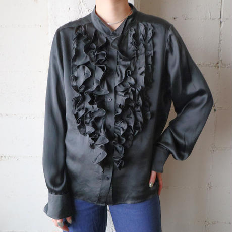 SEE BY CHLOE Frill Blouse BK