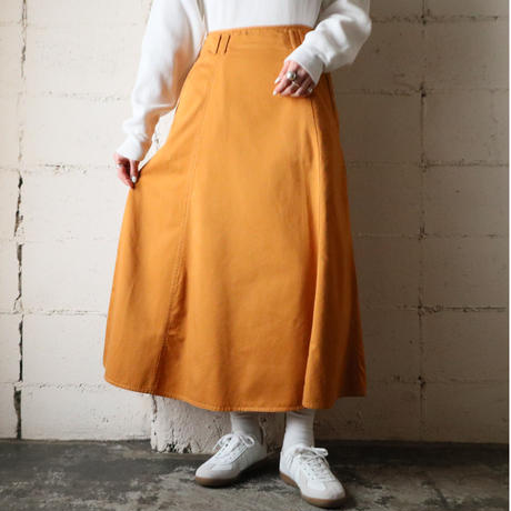 Cotton Flared Skirt OR