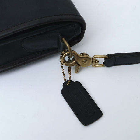 OLD COACH Front Cover Shoulder Bag BK