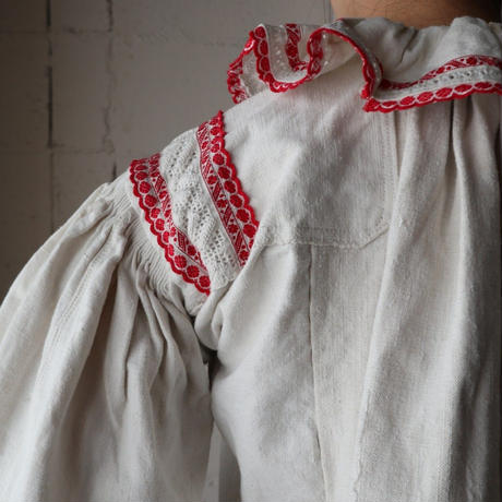 European Embroidery Blouse RE