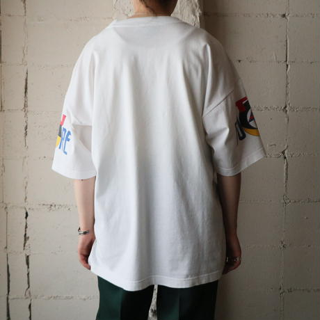 ''FUTURE'' Print T Shirt WH