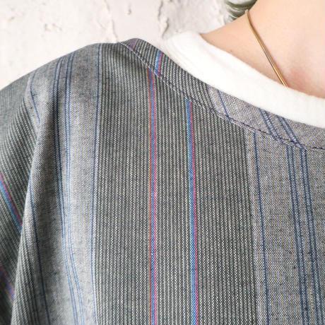 Stripe Work Apron Vest GR