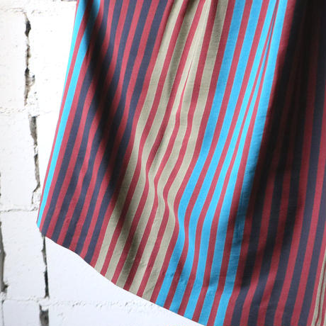 Stripe Flared Skirt REBL