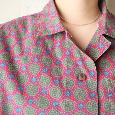 L.L.Bean Small Pattern Blouse