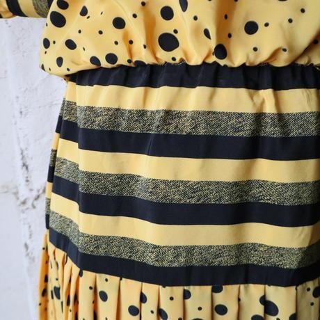 Stripe&Dot Tie Dress YE