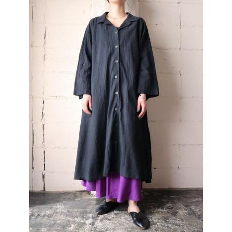Wide Silhouette Coat Dress BK