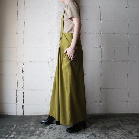 Wide Silouette Suspender Pants YEGN