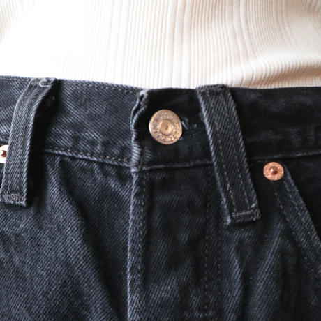 Levi's 501 Denim Pants BK