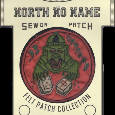 North No Name(ノースノーネーム)-FELT PATCH 13' ORPHANS