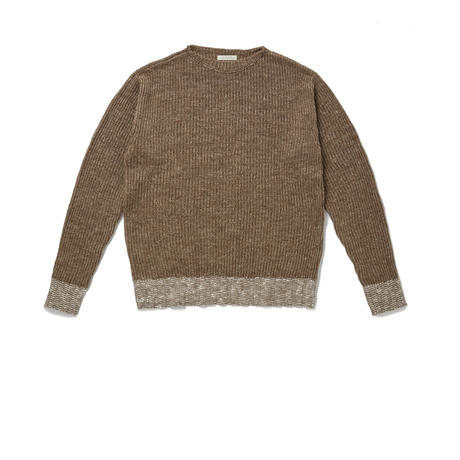 OLD JOE(オールドジョー) -BOAT-NECK SUMMER SWEATER(BRONZE)