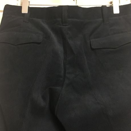 NorthNoName(ノースノーネーム) - CORDUROY PANTS(BLACK)