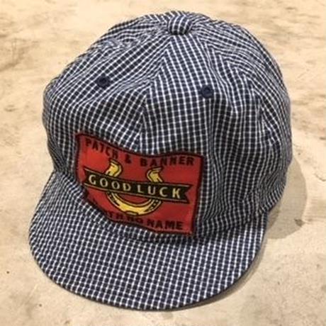 NorthNoName(ノースノーネーム) - GOOD LUCK WORK CAP(CHECK)