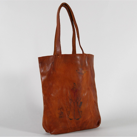 VASCO(ヴァスコ)-VS-292LP  PAINT LEATHER MARKET TOTEBAG