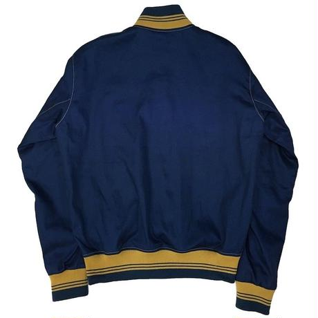 NorthNoName(ノースノーネーム)-COTTON VARSITY JACKET(BLUE)