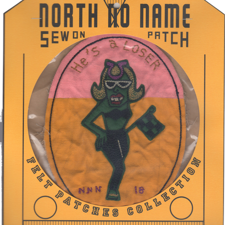 North No Name(ノースノーネーム)-FELT PATCH (LOSER)