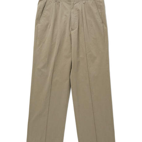 OLD JOE(オールドジョー) - FRONT TUCK ARMY TROUSER(BRONZE)