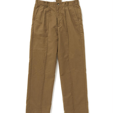 OLD JOE(オールドジョー) - FRONT TUCK ARMY TROUSER(OLIVE)