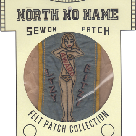 North No Name(ノースノーネーム)-FELT PATCH (BITZY)