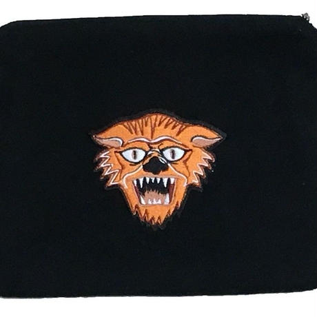 "2019 AW 先行予約 NorthNoName(ノースノーネーム)- NNN PATCH PATERN ""TIGER"" POACH-LARGE(BLACK)"