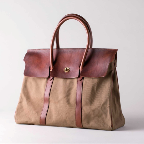 VASCO(ヴァスコ)-VS-270P  CANVAS×LEATHER SADDLE TOTE BAG( 8月入荷予定)