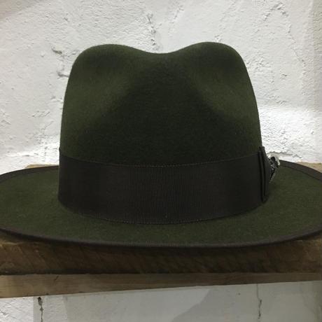 5WHISTLE(ファイブホイッスル) -TIGER FACE FELT HAT(GREEN)