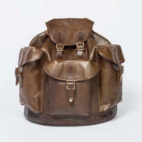 VASCO(ヴァスコ)-VS-204L  LEATHER ARMY RUCKSACK( 12月入荷予定)