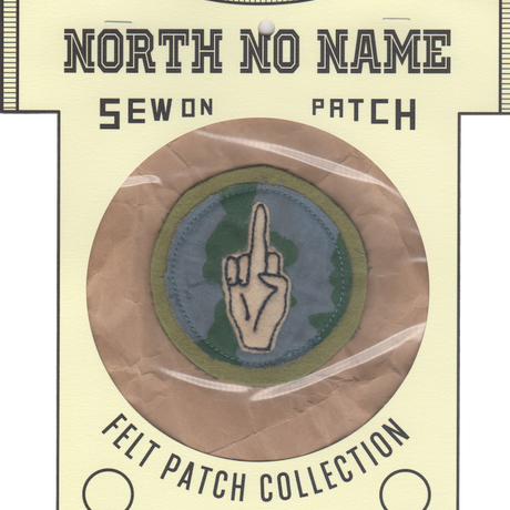 North No Name(ノースノーネーム)-FELT PATCH (EARTH)