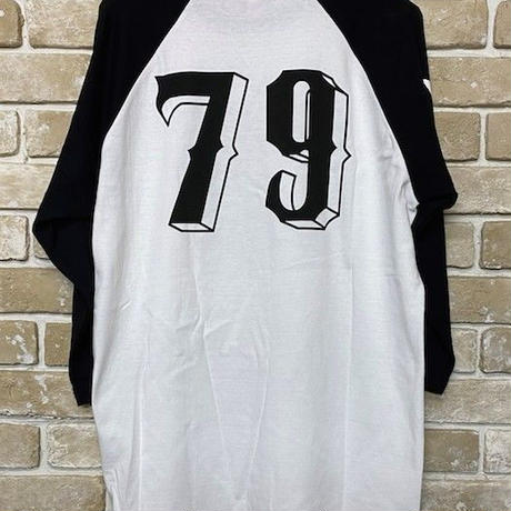 NorthNoName(ノースノーネーム)-NUMBERING BASEBALL T(WHITE/BLACK)
