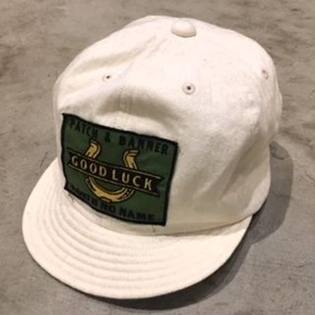 NorthNoName(ノースノーネーム) - GOOD LUCK WORK CAP(WHITE)