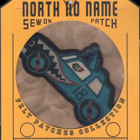 North No Name(ノースノーネーム)-FELT PATCH CAR
