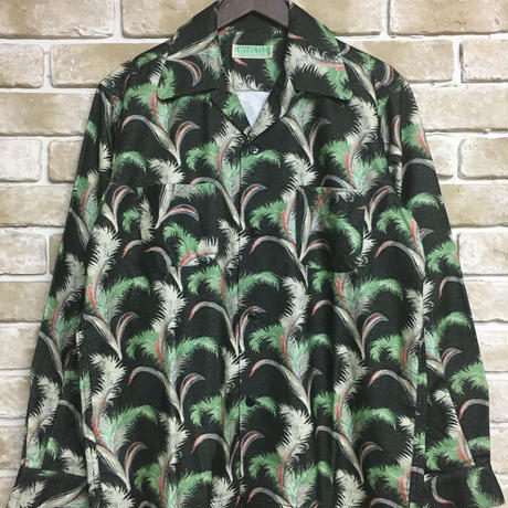 5WHISTLE(ファイブホイッスル) -HAWAIIAN NEL SHIRT(BLACK)